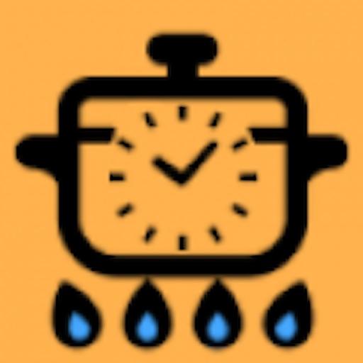 キッチンタイマー-茹で時間を簡単に測れる!-