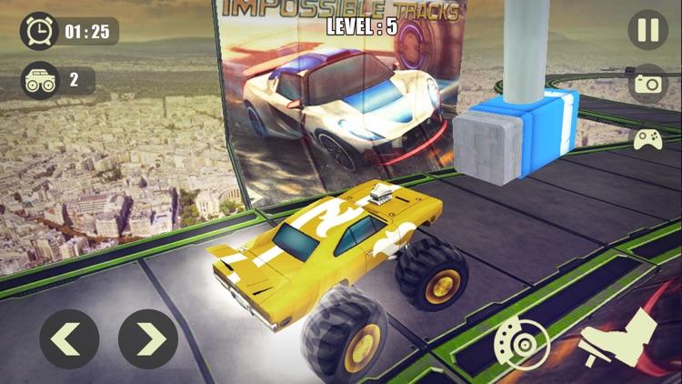 3D Monster Truck Derby Stunt screenshot-4