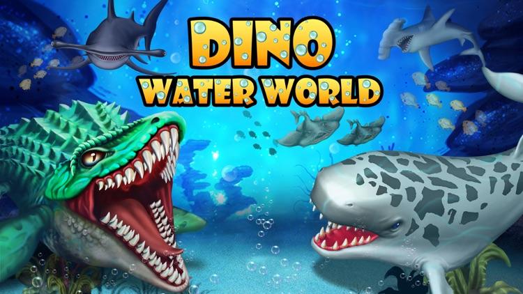 Dino Water World-Dinosaur game screenshot-0