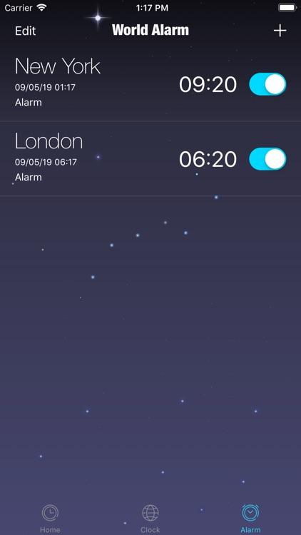TZ Alarm - Set Clock Anywhere
