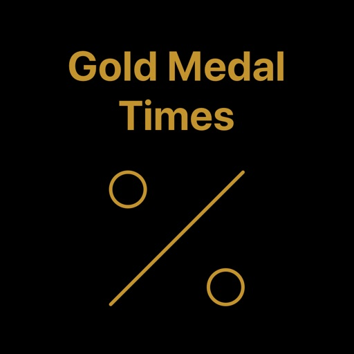 Gold Medal Time %