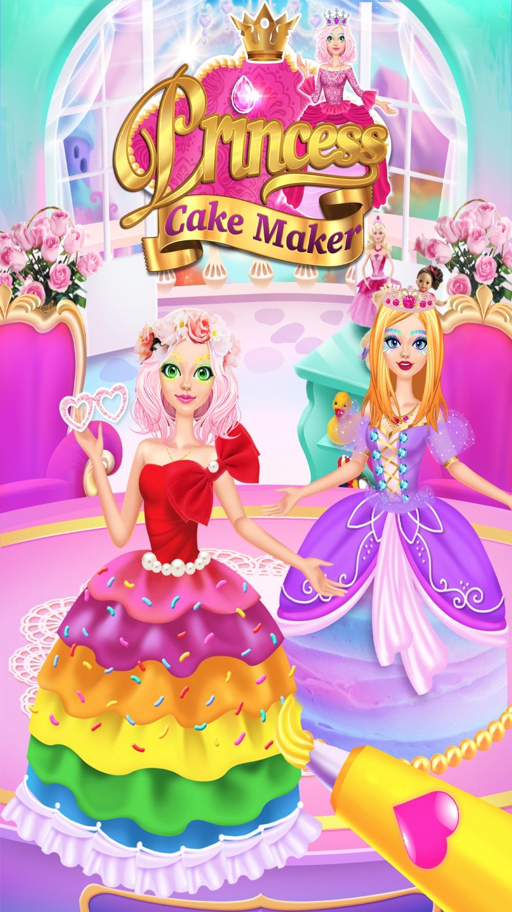 Rainbow Princess Cake Maker Cheat Codes