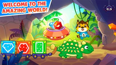 恐竜 ! 子供向けゲームのおすすめ画像1