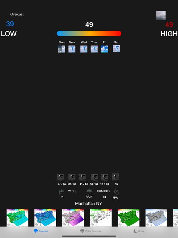 Instant NOAA Forecast Pro screenshot 6