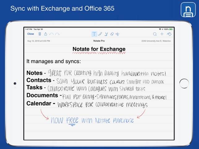 Notate Pro for MobileIron on the App Store