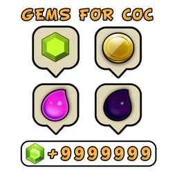 Gems for Clash Of Clans #Count