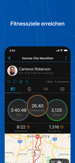 ?Garmin Connect™ Screenshot