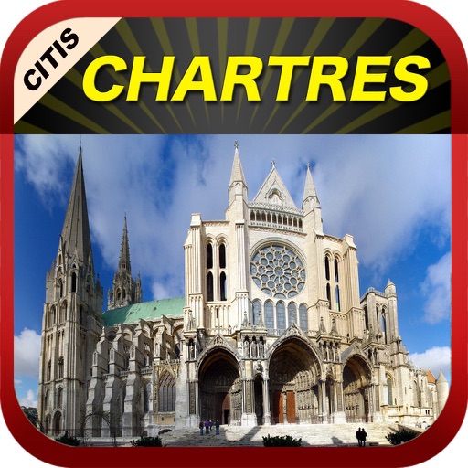 Chartres Offline Map Guide
