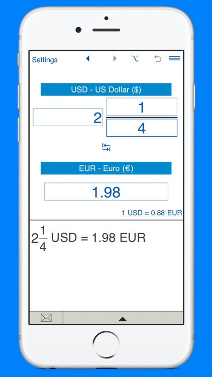 USD and EUR converter screenshot-3
