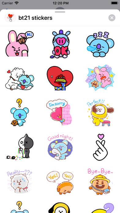 BT21 Stickers screenshot 4