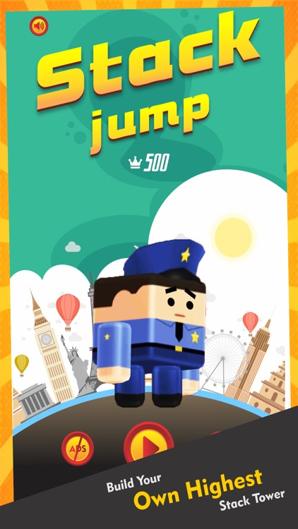 Stack Jump! Tap Tap Bounce 3D