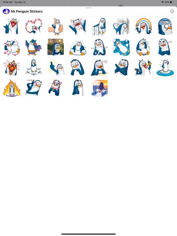 Mr.Penguin Stickers screenshot 4