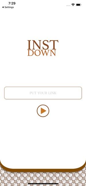 instdown on the App Store