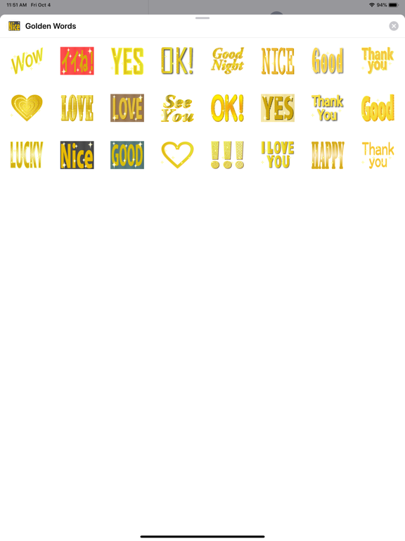 Golden - Words screenshot 3