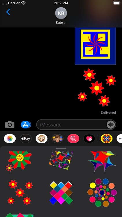 Kaleidos Stickers screenshot-9