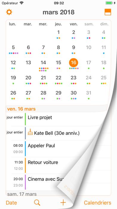 Screenshot #3 pour Page Calendar