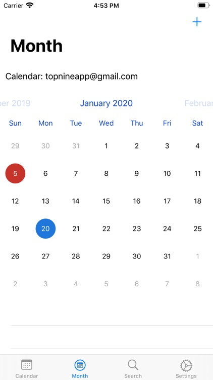 WatchCal for Google Calendar screenshot-3