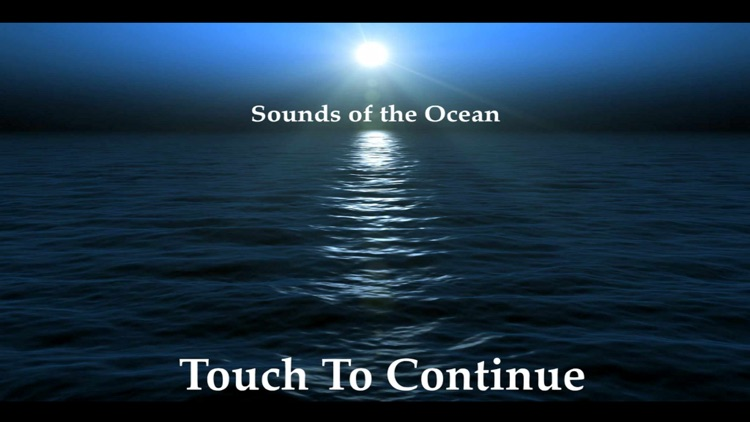 Meditation Sounds of the Ocean