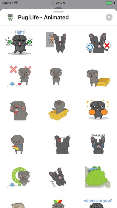 Pug Life - Animated screenshot 2