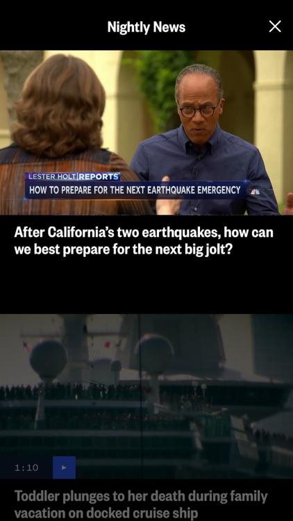 NBC News: Breaking & US News screenshot-5