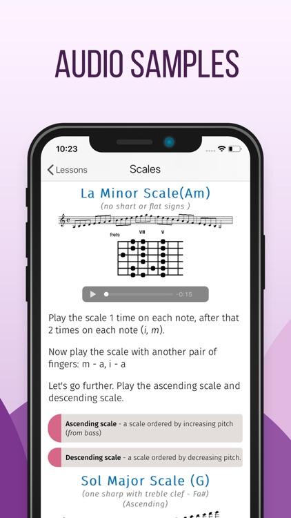Guitar lessons for beginner screenshot-3