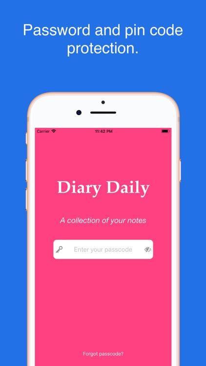 Diary with lock screenshot-3