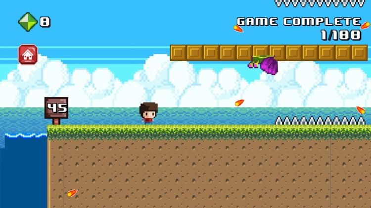 8 Bit Kid - Run and Jump screenshot-4
