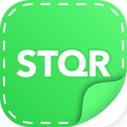 STQR create personal stickers
