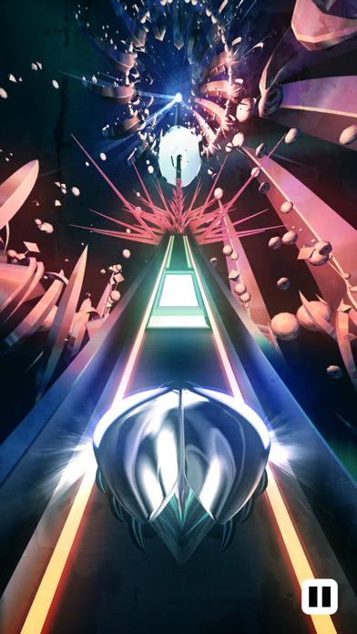 Screenshot from Thumper: Pocket Edition