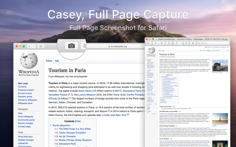 Casey - Full Page Capture for Mac
