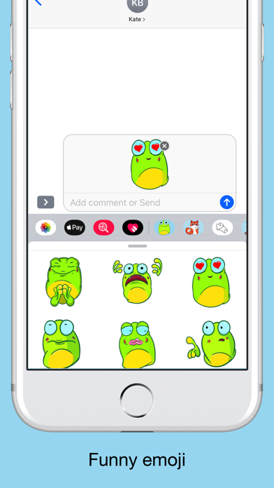 Crazy frog emojis - stickers screenshot 3