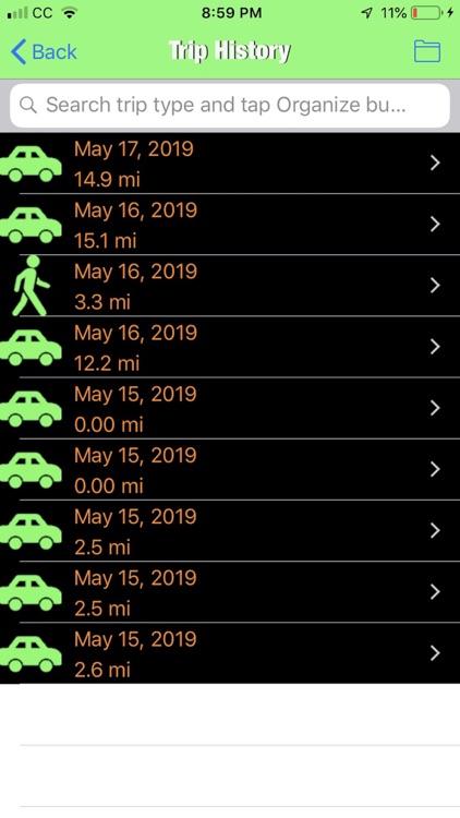 Trip Tracker GPS Professional screenshot-7