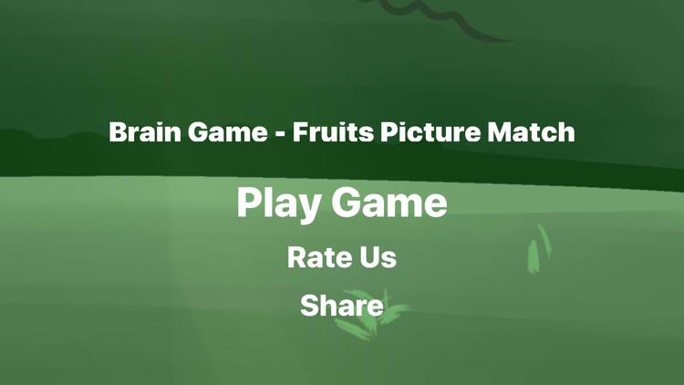 Brain Game Fruit Picture Match screenshot-4