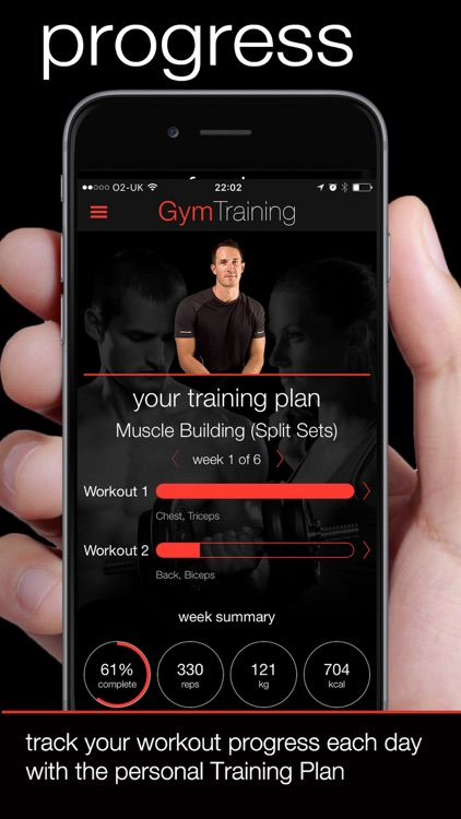 GymTraining Personal Trainer screenshot-1