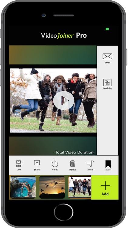 VideoJoiner - HD Video Editor screenshot-4