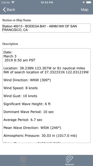NOAA Buoy Stations and Shipsのおすすめ画像3