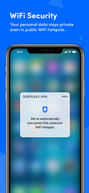 ‎SurfEasy VPN - WiFi Proxy Capture d'écran