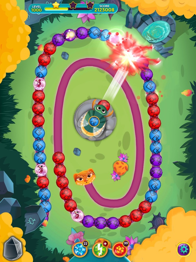 Viola's Quest - Marble Blast on the App Store