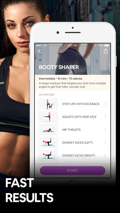 Butt Workout by 7M | Booty App wiki review and how to guide