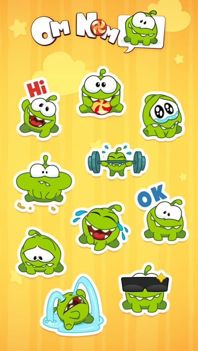 Screenshot #3 pour Om Nom Stickers