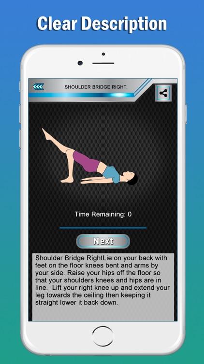 Pilates Fitness Yoga Workouts screenshot-7