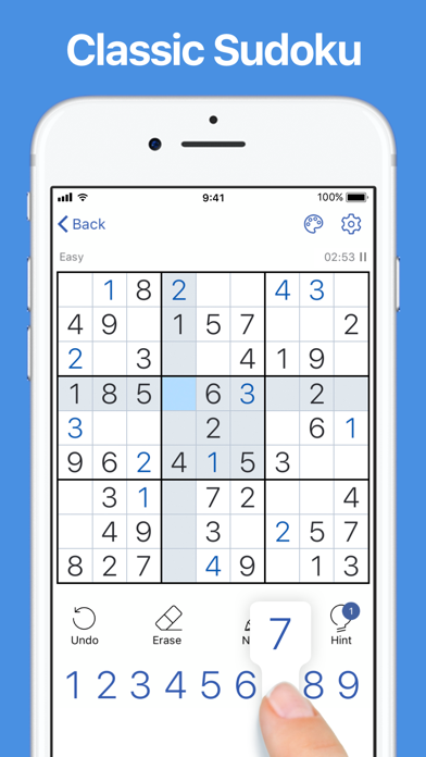 Sudoku - Classic Sudoku Puzzle Game screenshot 6