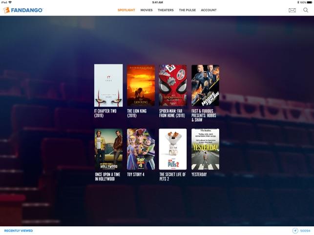 Fandango Movie Tickets & Times on the App Store