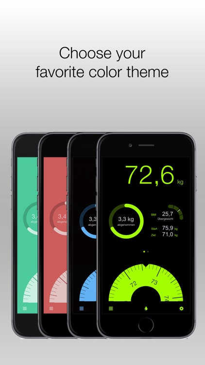 Track weight with DailyWeight