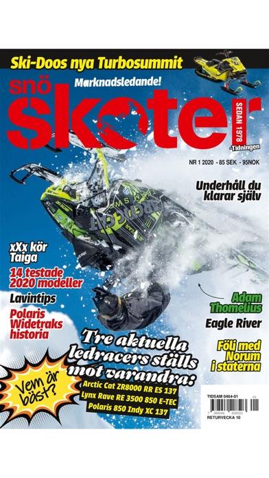 Tidningen SnöskoterScreenshot of 1