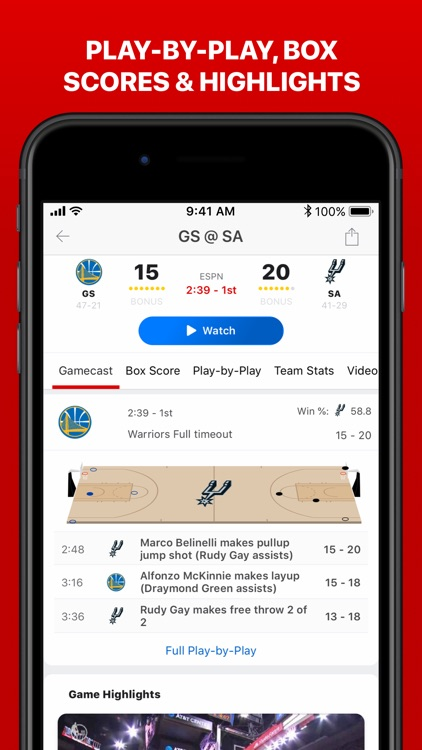 ESPN: Live Sports & Scores screenshot-7