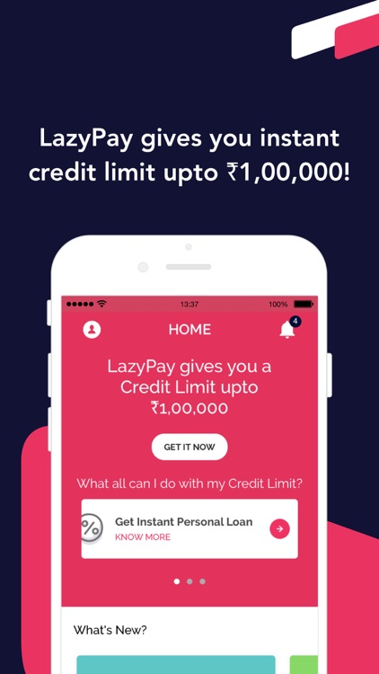 Personal Loan Online - LazyPay