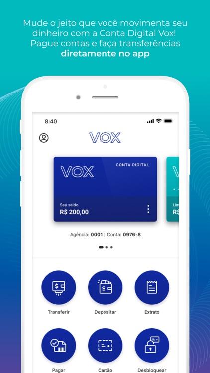 Conta Digital Vox
