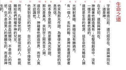 聖經工具(現代中文譯本)のおすすめ画像4