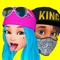 App Icon for Facemoji: Your 3D Emoji Avatar App in Denmark IOS App Store